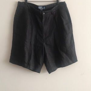 Ralph Lauren Men's Shorts 100% Linen Size 38
